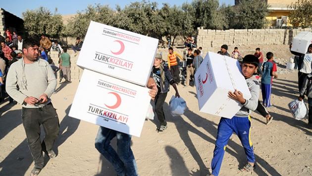 Musula en büyük yardım Türkiyeden yapıldı