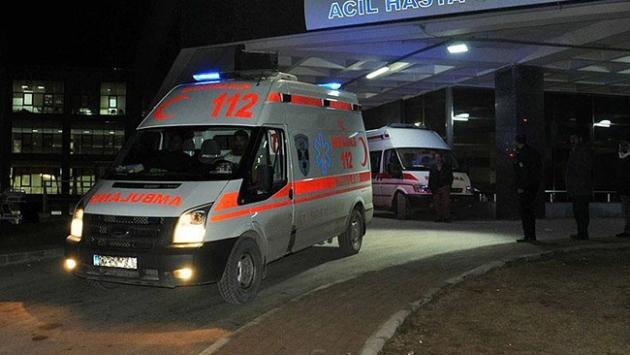 Diyarbakırda terör saldırısı: 1 şehit, 1 yaralı