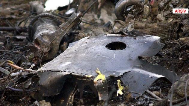 Kanadada savaş uçağı düştü
