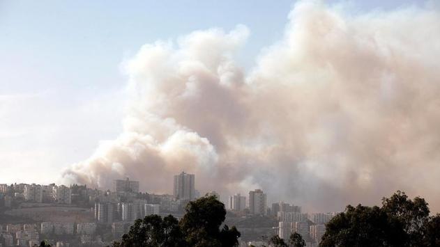 Filistinli gruplardan İsraile yangın tepkisi