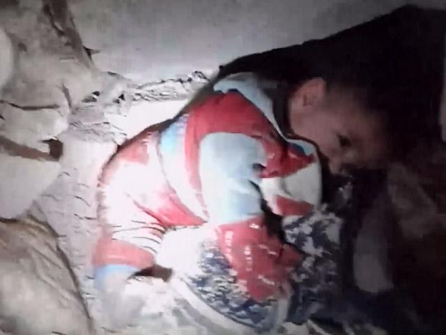 Hasan bebek kurtarıldı