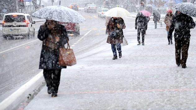 Yurt genelinde kar yağışı bekleniyor