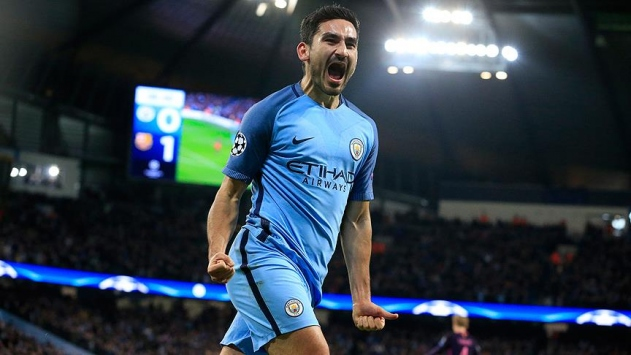 Manchester Cityde ayın futbolcusu İlkay Gündoğan