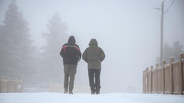 Doğu Anadolu Bölgesine kar uyarısı