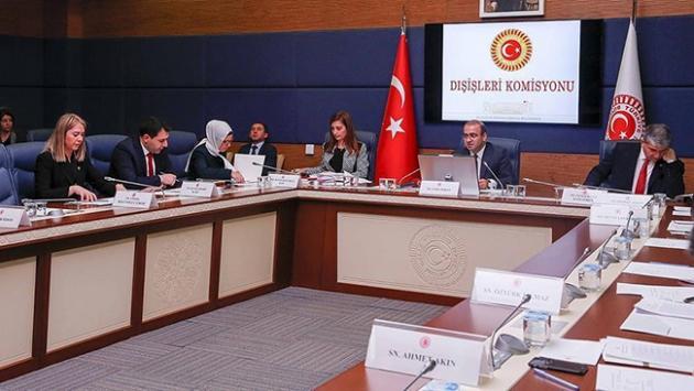 Dışişleri Komisyonunda üç kanun tasarısı kabul edildi