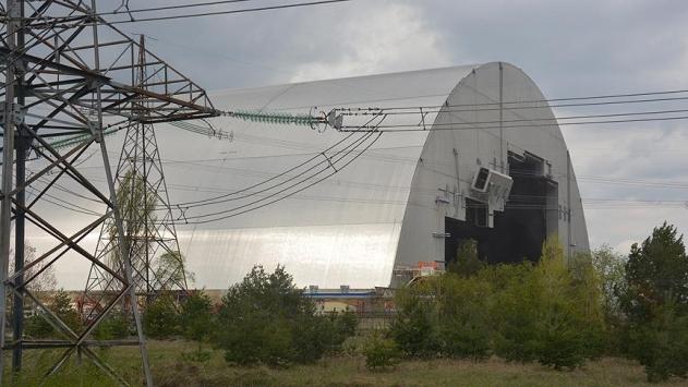 Çernobil Nükleer Santralinin 4. reaktörü izole edildi