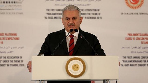 Başbakandan İsrailin ezan yasağı tasarısına tepki
