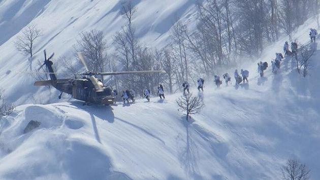 Cudi Dağındaki operasyonlarda 14 terörist etkisiz hale getirildi