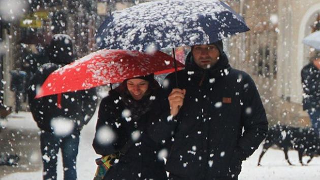 İstanbulda karla karışık yağmur bekleniyor