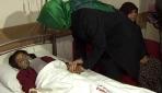 Bakanlar Adanada yaralıları ziyaret etti