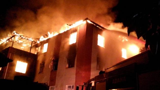 Adanadaki yangın soruşturması sürüyor