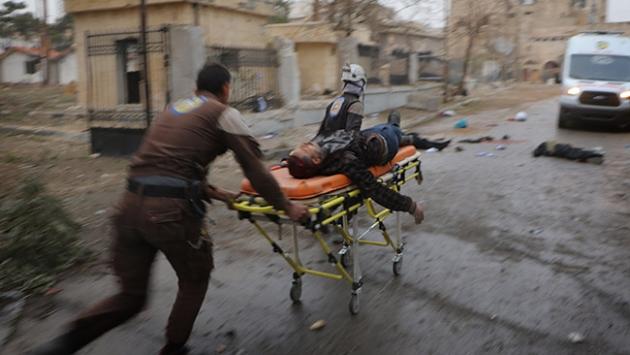 Suriyede 2 haftada 739 kişi yaşamını yitirdi