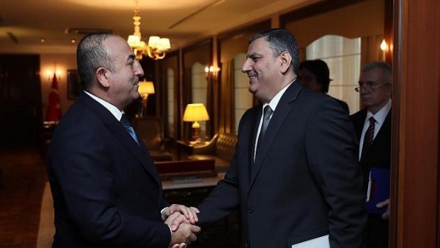 Dışişleri Bakanı Çavuşoğlu Hicab ile görüştü