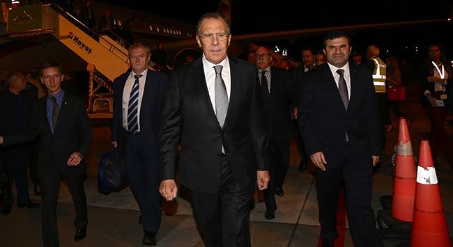 Rusya Dışişleri Bakanı, Antalyada