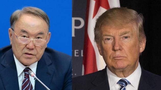 Nazarbayev ve Trump telefonda görüştü