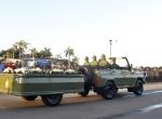 Fidel Castronun külleri San Tiagoya doğru yola çıktı