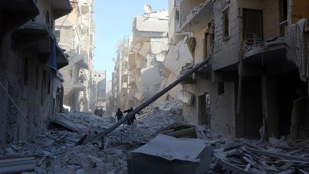 Halepte 300 bin sivil ölüm kuşatmasında