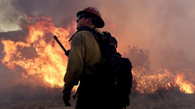 ABDdeki orman yangınında 7 kişi hayatını kaybetti