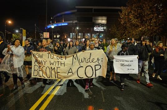 ABDde polis şiddetinin yargılanmasına gerek görülmedi