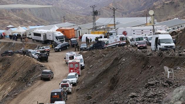 Siirtteki maden faciasında 4 işçi için çalışmalar sürüyor