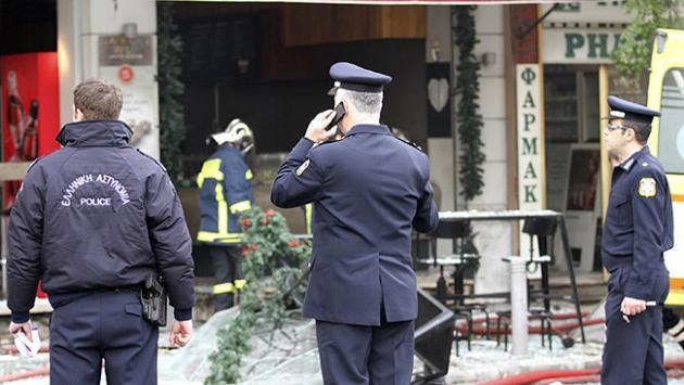 Atinada kafede patlama: 1 ölü, 7 yaralı