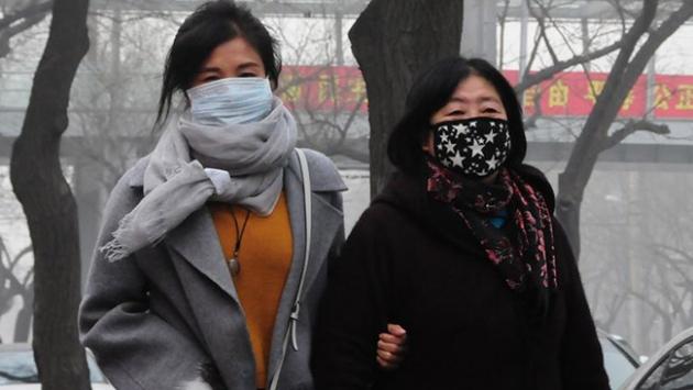 Çinde hava kirliliğinde yüksek tehlike