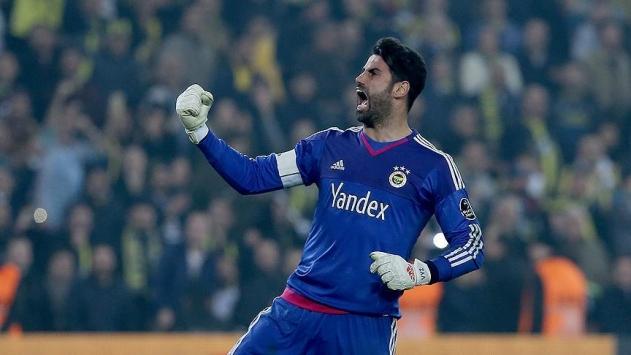 Fenerbahçenin derbide kalesi emin ellerde