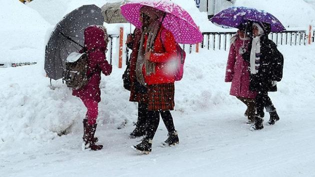 Karamanda kar tatili