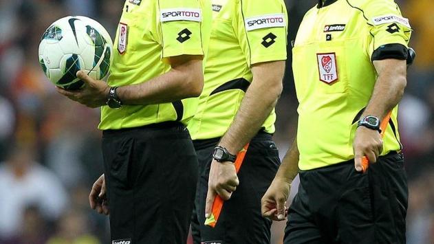 Süper Ligde 13. hafta hakemleri belli oldu