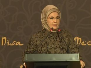 Emine Erdoğan: Kız çocuklarının okullaşma oranı son 14 yılda arttı