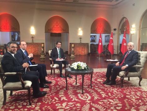 Başbakan Yardımcısı Kurtulmuş, TRT Haberde