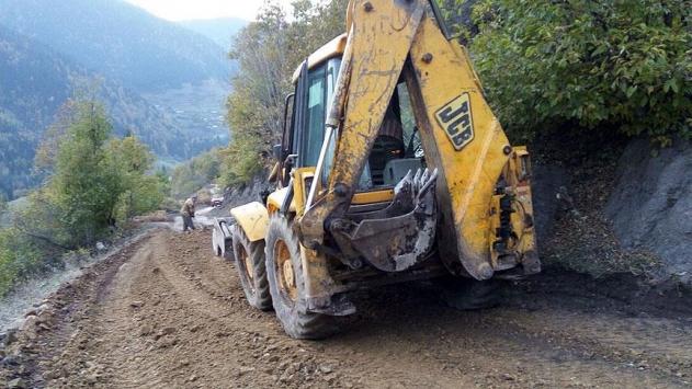 TİKAdan Gürcistandaki köylere yol desteği
