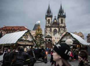 Prag'da Noel hazırlıkları