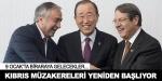 Kıbrısta kriz aşıldı, müzakereler yeniden başlıyor