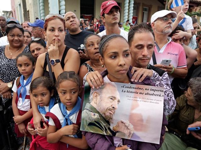 Fidel Castro son yolculuğunda