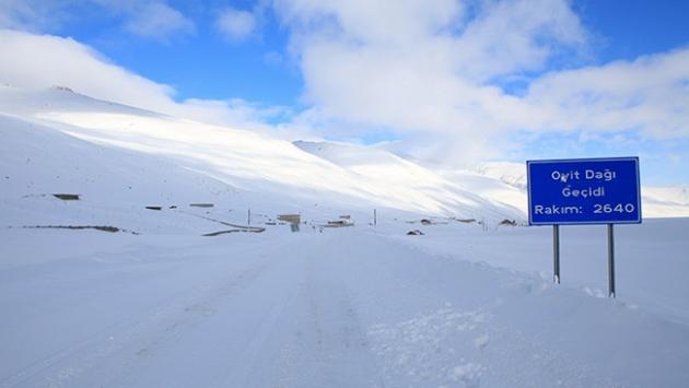 Ovit Dağı Geçidi ilkbahara kadar ulaşıma kapatıldı