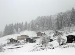 Ayder Yaylasında kar yağışı