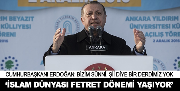İslam alemi ve Türk dünyası büyük bir fetret dönemi yaşıyor