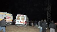 Erzurum'da İşçiler Baraj Gölüne Düştü