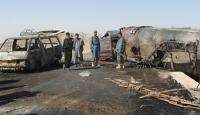 Afganistan'da Tanker Yandı