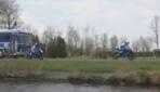 Antremanda Motosiklet Kazası