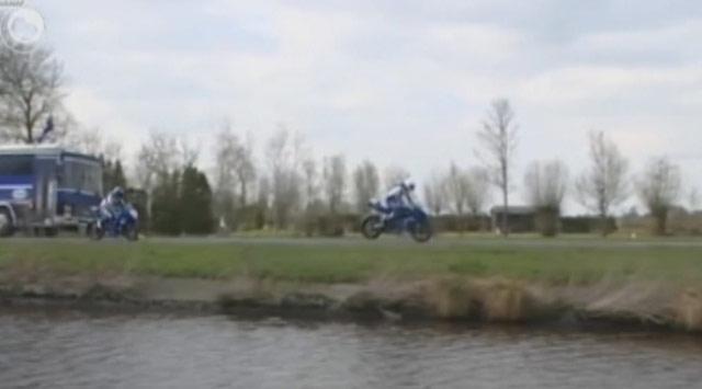 Antrenmanda Motosiklet Kazası