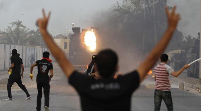 Bahreyn Karıştı