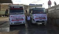 Suriyeye 10 ton gıda yardımı