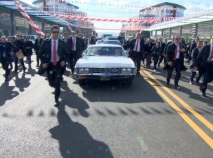 Erdoğanın klasik araba merakı