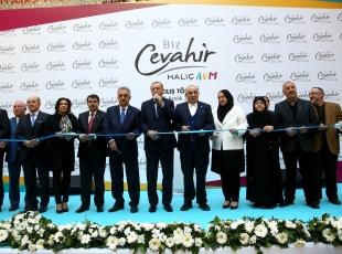 Erdoğan, Biz Cevahir Haliç Avm açılış törenine katıldı