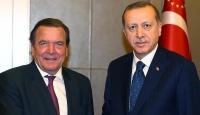 Cumhurbaşkanı Erdoğan Schröderi kabul etti