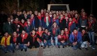 Bakan Çelik 50 gencin asker gecesine katıldı
