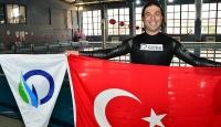 Milli sporcu Aydın su altındaki rekorunu geliştirdi