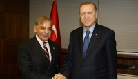 Cumhurbaşkanı Erdoğan, Şahbaz Şerifi kabul etti